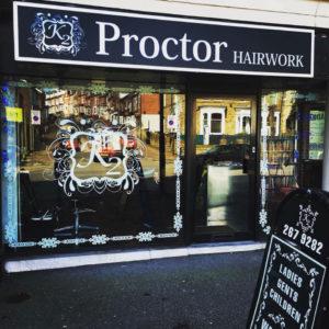 Hair salon Ecclesall Road, Sheffield